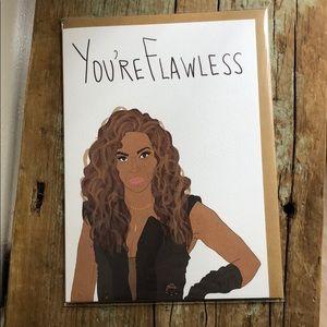 Beyoncé Greeting Card w/Envelope